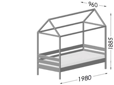 размеры кровати Estella Ammi