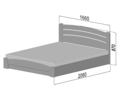 размеры кровати Estella Selena Auri