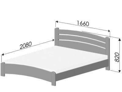 размеры кровати Estella Venice Lux
