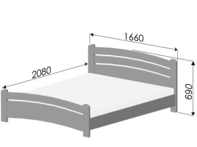 размеры кровати Estella Venice