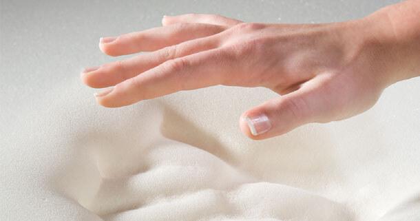 Пена Memory Foam в матрасе mix roll